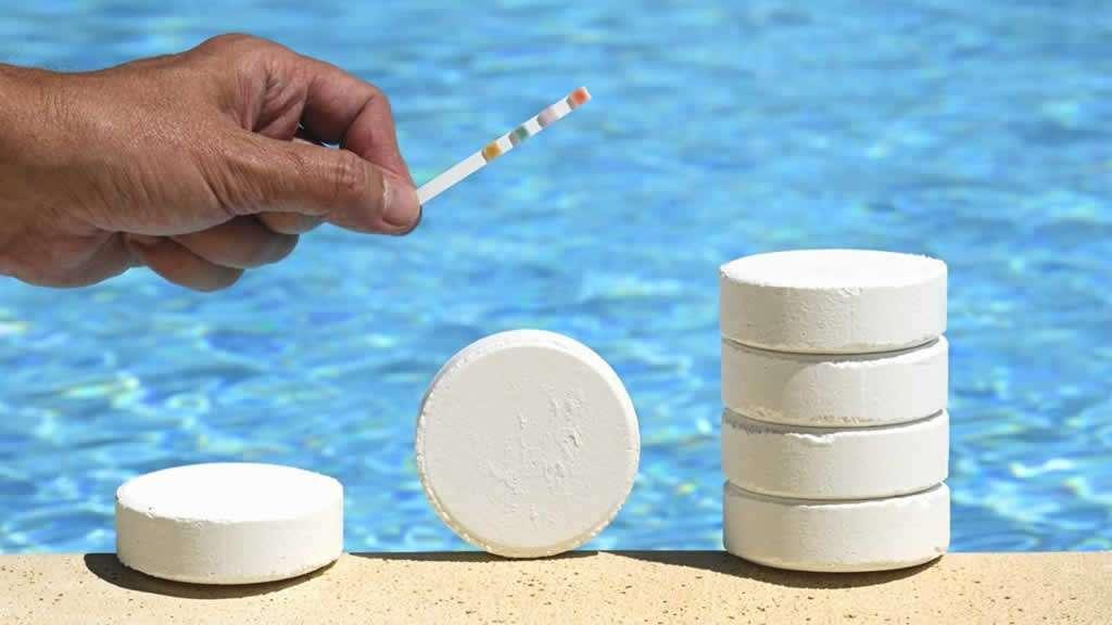 Tratamiento químico del agua con cloro
