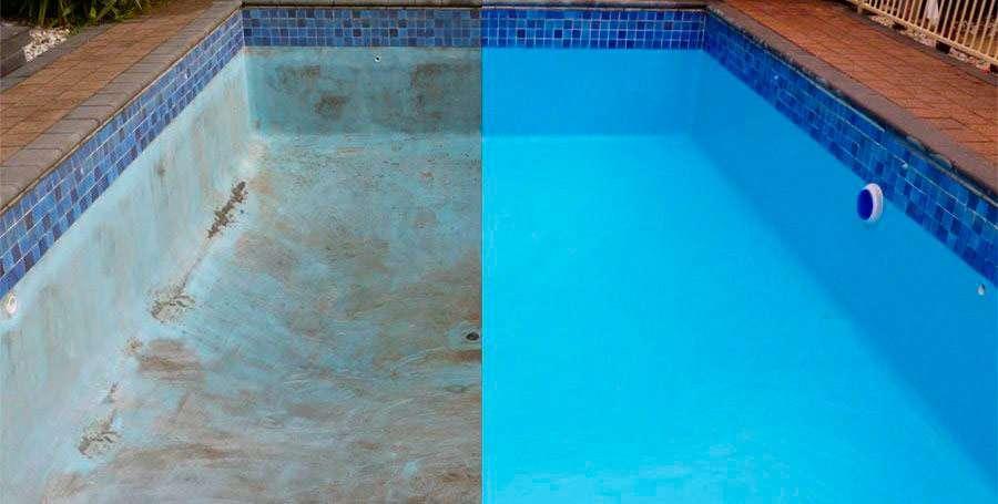 Pintura para la piscina