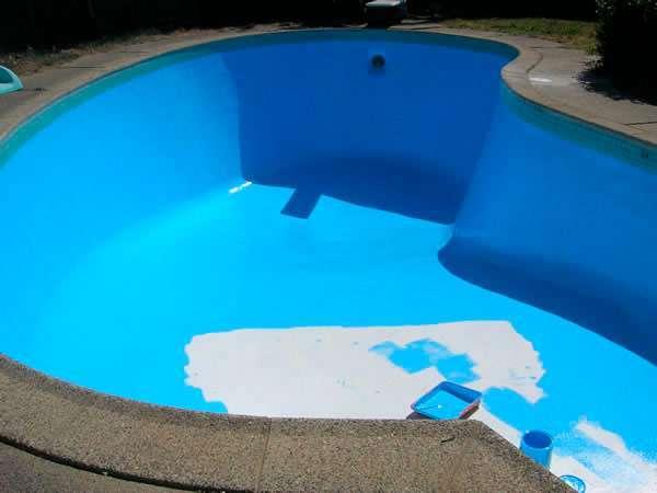 cuando pinta la piscina