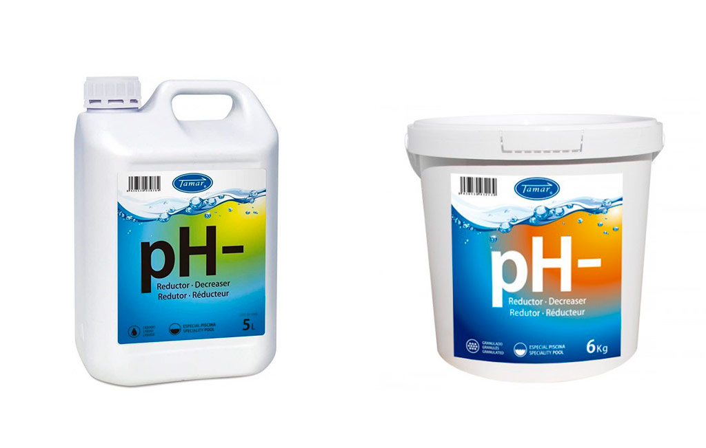 bajar el pH de la piscina